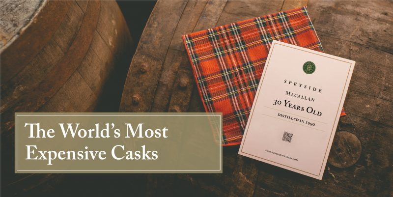 The most expensive whisky casks for investors